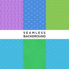 Geometric seamless pattern background collections, use for any purpose