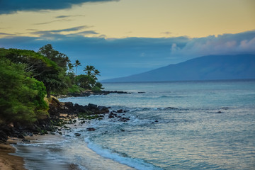 Kahana Beach, Maui, Hawaiian Islands