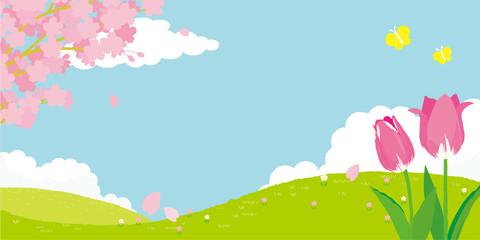 春イメージ 背景