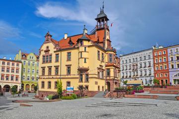 Nowa Ruda near Wałbrzych city hall - Sowie Mountains