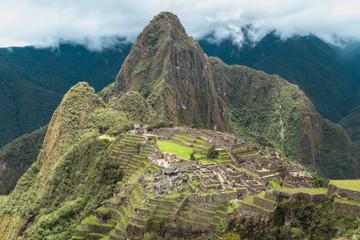 Foto op Canvas Zuid-Amerika land Machu Picchu landscape