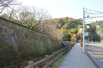 Kagoshima Castle, the residence of the Shimazu family