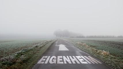 Schild 402 - Eigenheim