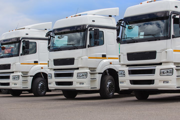 New white trucks for sale.