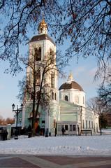 The historical Park Tsaritsyno