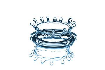 Krone eines Wassertropfens