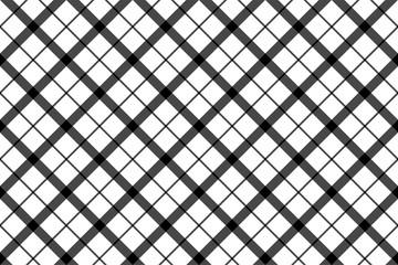 Monochrome balck white check pixel seamless pattern