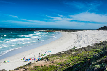 South Africa, Witsand beach