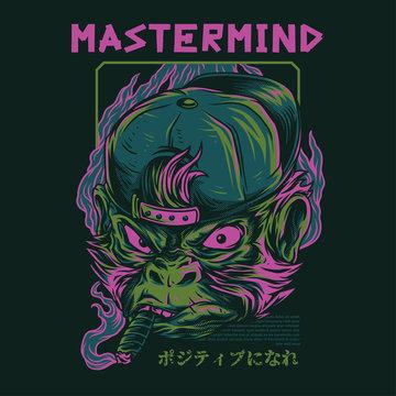 Mastermind Illustration
