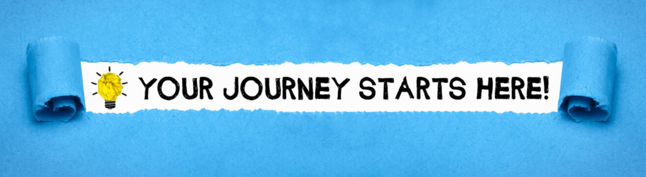 Your journey starts here!