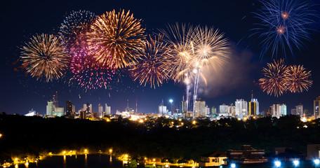 Fogos de artificio Brasil