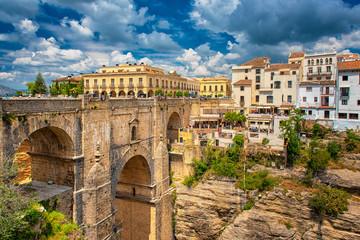 Acrylic Prints European Famous Place Tajo de Ronda in Malaga, Spain