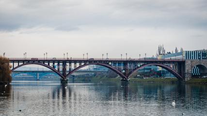 The Old Bridge (Stari Most) in Maribor, Slovenia