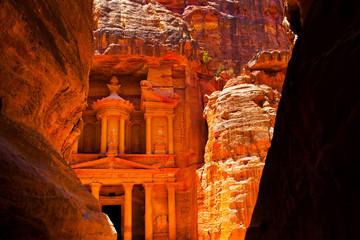 Al-Khazneh temple in Petra