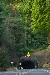 Road Tunnel in Oregon