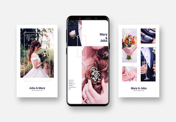 Wedding Social Media Post Layouts