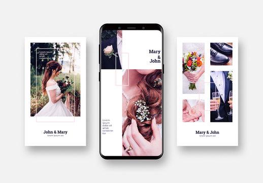 Wedding Social Media Post Layouts