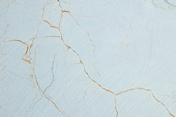 Cut of natural limestone with colour patterns and disseminations surface
