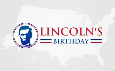 Lincoln's Birthday Banner