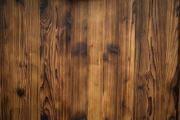 Muro de madera flameada color cafe