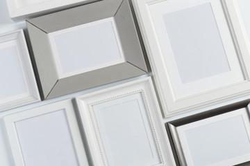 . frames close up view