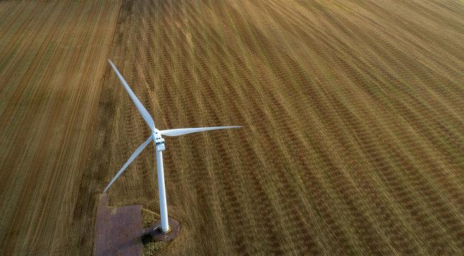 Wind Turbine in Motion