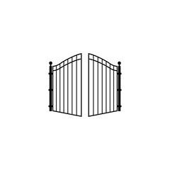 open gate logo
