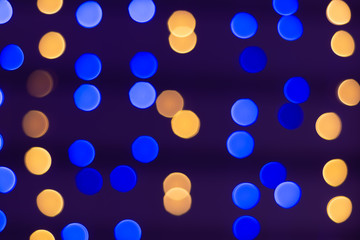 bokeh Backgrounds colour orange , gold and blue