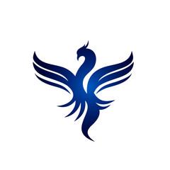 Phoenix Fire Bird Logo Template