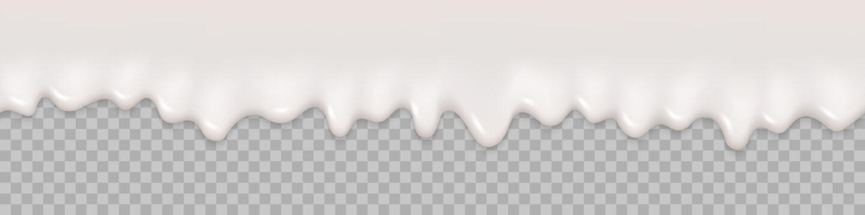 Seamless pattern. Milk splash background. Milk liquid cream text