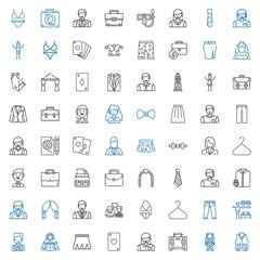 suit icons set