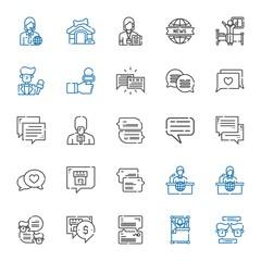 live icons set
