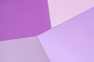 Paper texture background, abstract geometric pattern of pink purple violet colors for design