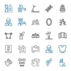 body icons set