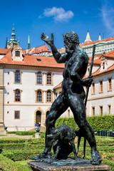Prag, Wallensteingarten Statue