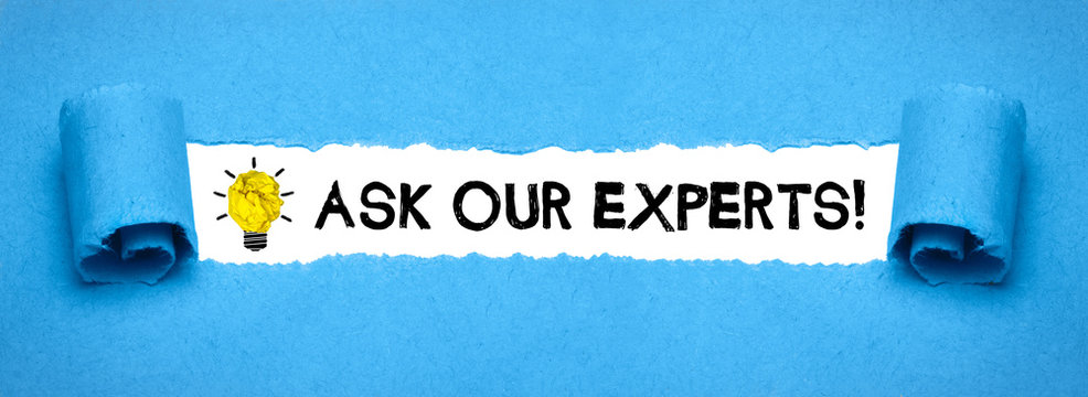 Ask our Experts!
