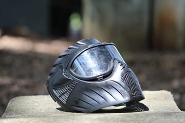 Poster Motorise helmet and gloves