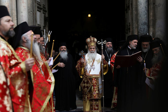 The Wider Image: Walking in the Lord's footsteps in Jerusalem's Holy Sepulchre