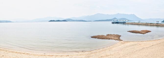 Ma On Shan Beach, New Territories, Hong Kong.
