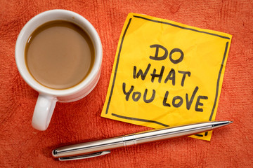 do what you love - advice or reminder