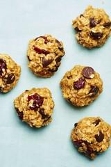 Close up of deez balls cookies