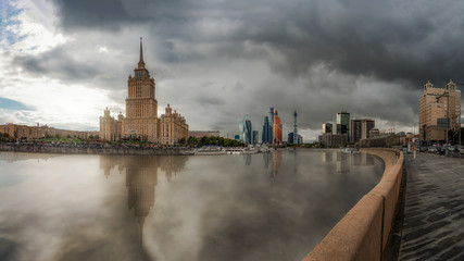 Skyscrapers in Moscow, Russia