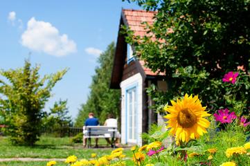 Fototapeta wypoczynek na wsi obraz