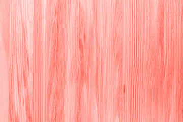 Wood slab in living shades of coral color