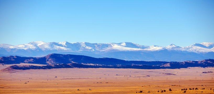 Colorado Plains and Mountains