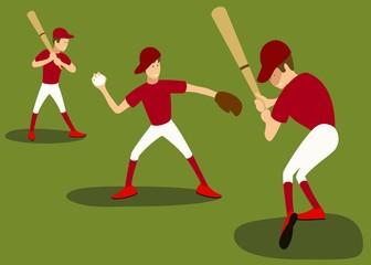 the baseball set