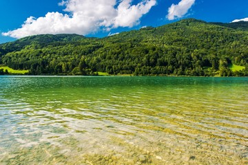 Wall Mural - Scenic Clear Water Lake