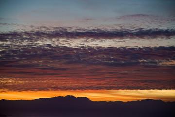 Sunrise views over Bucerias Bay near Puerta Vallarta at Punta de Mita, Mexico (Rivieria Nayarit)