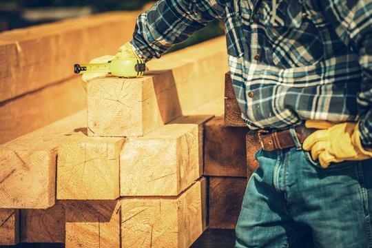 Wood Beams Material