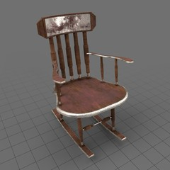 Traditional Rocking Chair